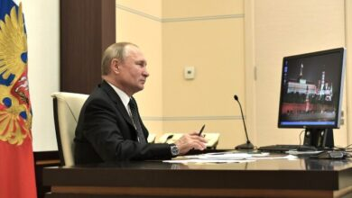 Photo of El presidente ruso Vladimir Putin tiene Windows XP en su escritorio