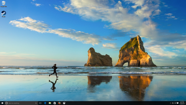 Escritorio de Windows 10
