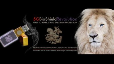 Photo of $ 350 '5G BioShield USB Key' Paquetes 128 MB de almacenamiento, galones de aceite de serpiente