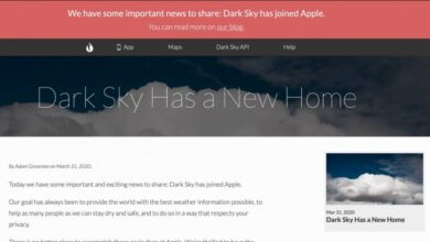 Photo of Apple compra la popular aplicación meteorológica 'Dark Sky' y suspende la versión de Android