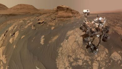 Photo of El Curiosity Mars Rover de la NASA devuelve una selfie impresionante